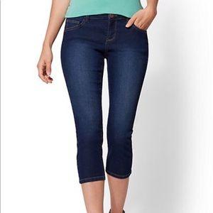 Soho Jeans - Curvy Crop Leggings